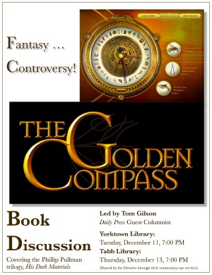 Golden Compass Discussions Flyer