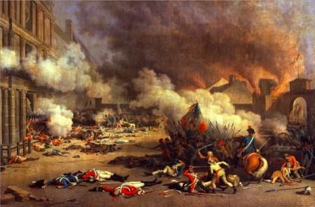 Bertaux, Prise du palais des Tuileries