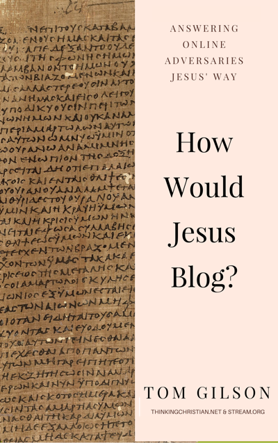 How Would Jesus Blog Book Cover