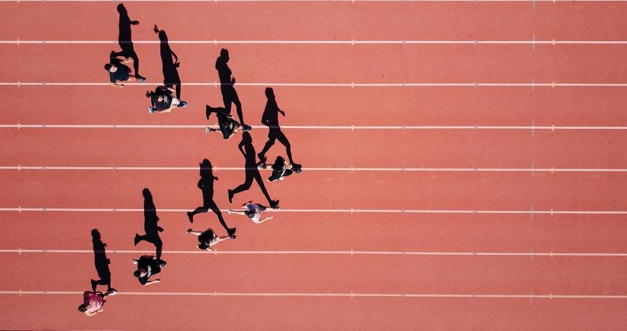 Running - action